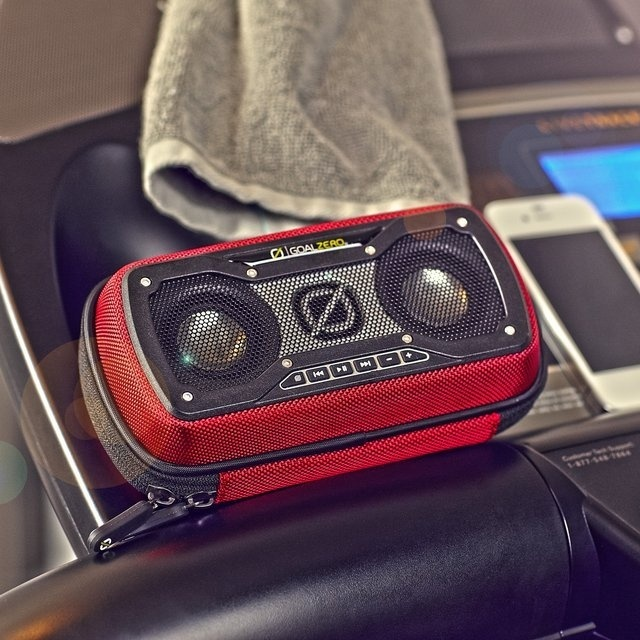 Rock Out 2 Rechargable Speaker by Goal Zero #tech #flow #gadget #gift #ideas #cool