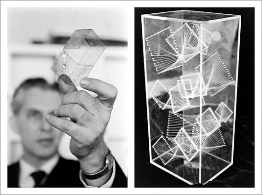 Photo Essay – MIT Design Class, 1964 / Aqua-Velvet #glas #laser