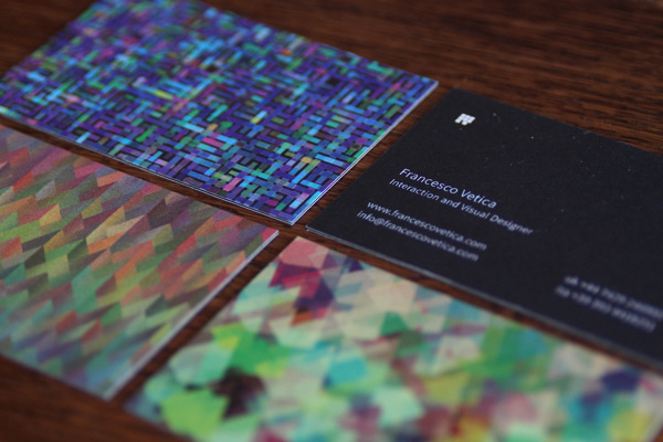 Francesco Vetica Corporate Identity on Behance #visual #business #designer #card #design #logo