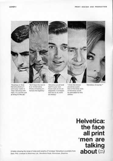 Helvetica Trade Advertising 02 | Flickr - Photo Sharing! #helvetica #vintage