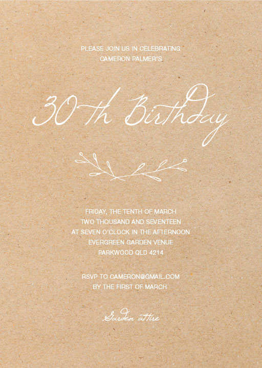 Best birthday wedding print rustic birthday invitations images on rustic birthday birthday invitations birthday invitation birthdayinvitation paper cards filmwisefo