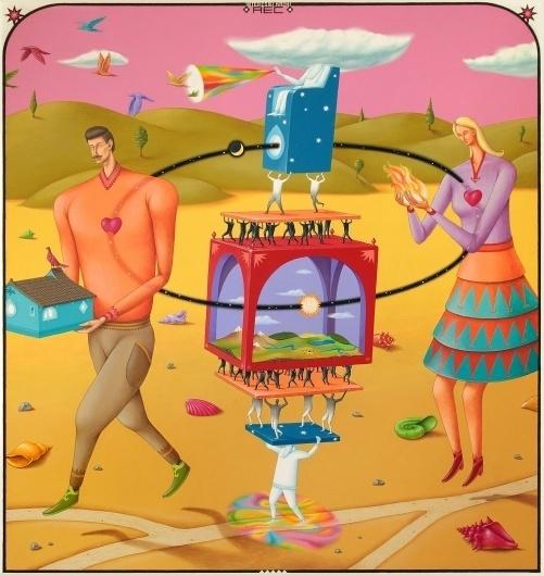 Balance.jpg (1514×1600) #illustration #ukraine #kazki #interesni