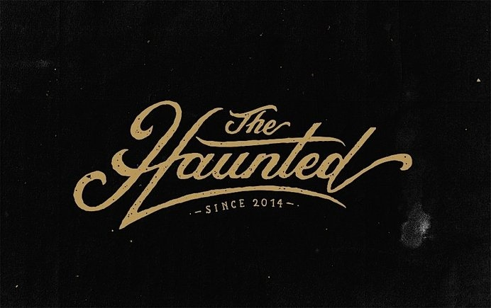 Hand Lettering by Tobias Saul #haunted