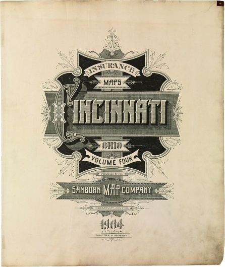 All sizes | Cincinnati, Ohio 1904 | Flickr - Photo Sharing! #design #typeography