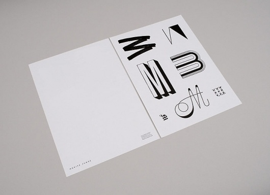 No Days Off ~ Work #letterhead #identity #branding #stationery