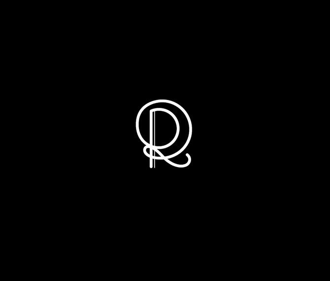 R #type #font #typography
