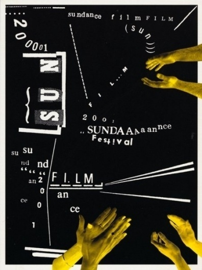 SELECTED POSTERS on the Behance Network #cut #venezky #out #poster #collage #martin #typography