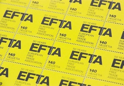EFTA : DEMIAN CONRAD DESIGN #conrad #stamps #demian #typography