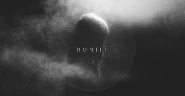 RONIIT Website Design and Brand Identity on Behance #logo #blackandwhite