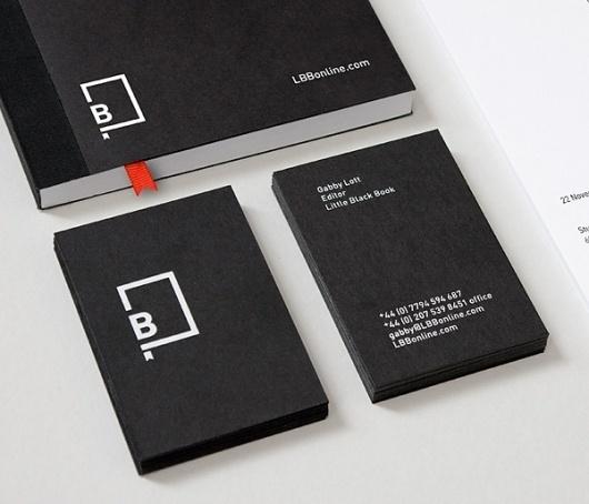 Logo & Branding: Little Black Book « BP&O Logo, Branding, Packaging & Opinion by Richard Baird #stationary