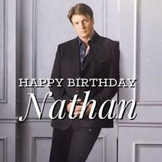 Happy Birthday to Hollywood Actor @nathanfillion.#NathanFillion #HBDNathanFillion #HappyBirthdayNathanFillion PC:@mr2hollywood