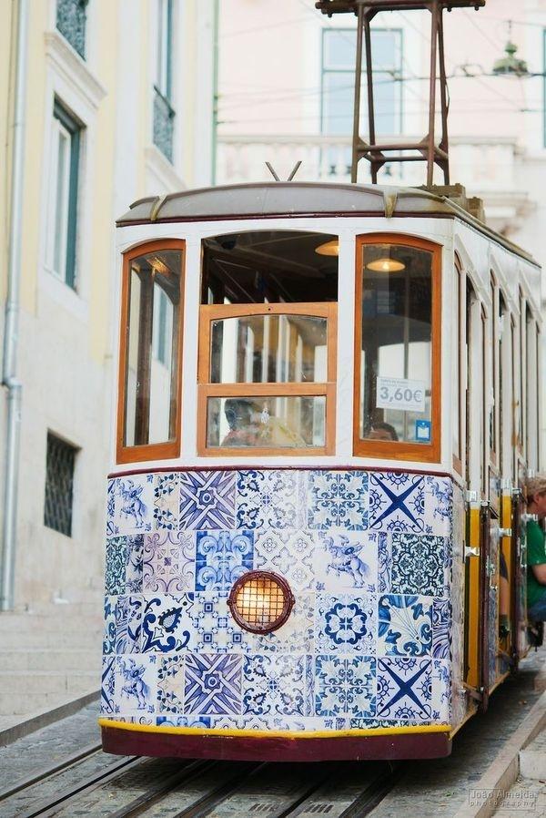 {Alfama, Lisbon | Portugal.} #train #ornament #trolley #portugal