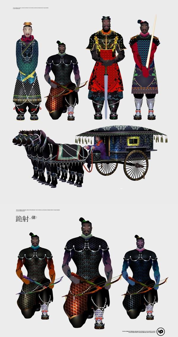 Terracotta Warrior illustrations