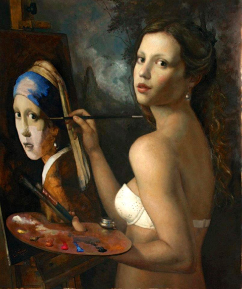 Cesar Santos | PICDIT #paintings #color #design #painting #art #artist