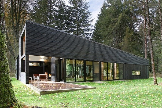 White River House by Robert Hutchison Architect