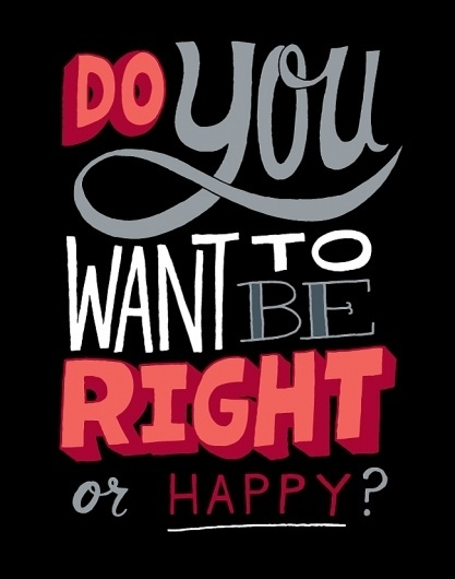 Right or Happy? - chrispiascik.com #illustration #drawings #quotes