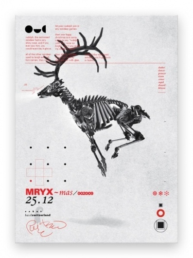 1303821262568960.jpg (482×643) #deer #swiss #technofetish #poster #mech