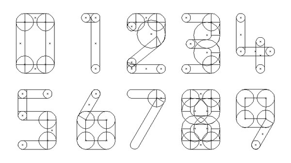 Leica Lens Font: LG1050 - By Aen #font #numerals #lens #leica #typeface #type