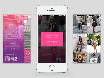 Fashion App #fashion #app #web