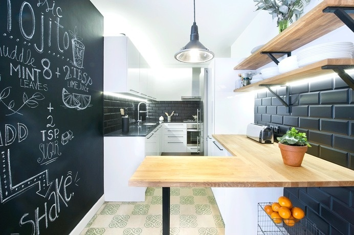 apartment in Barcelona #apartments #interiordesign #barcelona #renovation