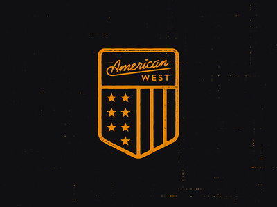 American West clothing co. #america #logo