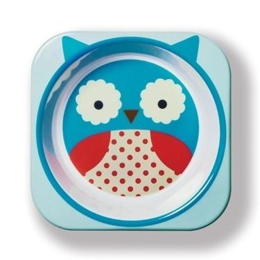Skip Hop: Product Image Zoom #owl #skip #tableware #design #zoo #illustration #hop #children