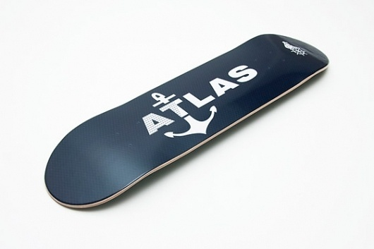 Atlas » Atlas - Fall/Winter 2010 #skateboard #illustration #atlas