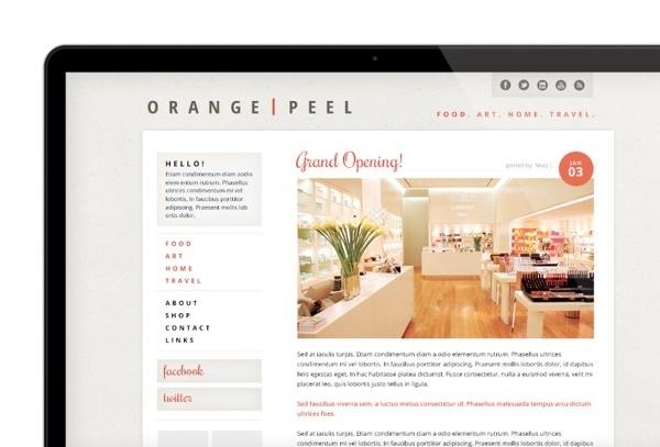 Website/Blog Design on Behance #inc #quaint #wordpress #layout #web
