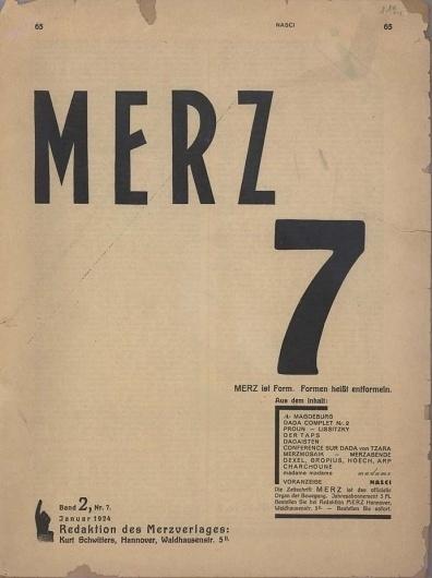 Merz #dada #art