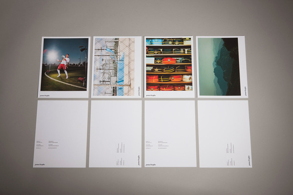 Jamie Kripke — Berger #layout #design #minimal #postcard