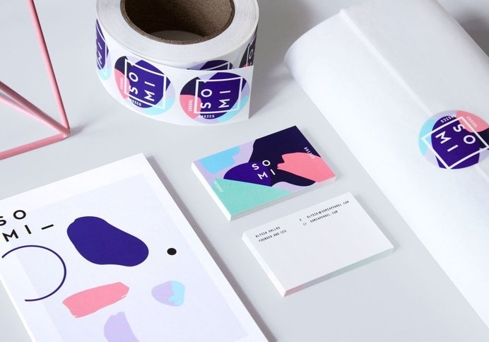 Somi | STATIONERY OVERDOSE #business cards #branding #visual identity #graphic design