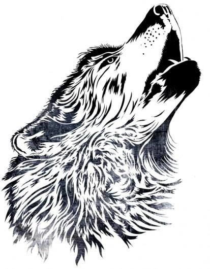 51369251969883608_ObmjlgU3_c.jpg (413×530) #blackwhite #wolf