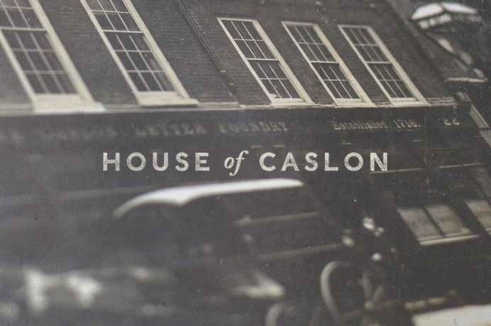 House of Caslon by Olly Sorsby #logo