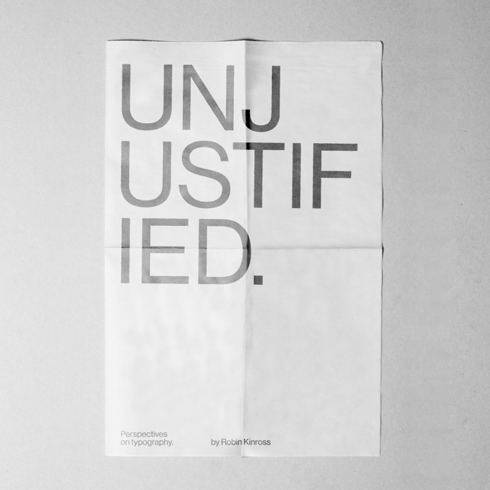 Personal Tribute to Unjustified texts: Perspectives on typography. Book by Robin Kinross #typography #poster #graphic #design #helvetica #m