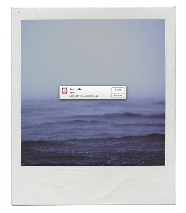 Graphic Designer Inserts Error Messages Into Human Experiences DesignTAXI.com #error #message