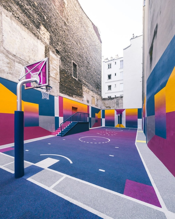 basketball court #pigalle