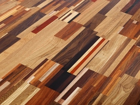 Sustainable Table Made Out Of Waste Wood | IGreenSpot #random #wood #color #floor