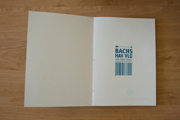 BACHS xc2xb7 HAV xc2xb7 VLC #book #desing #fly #editorial #typography