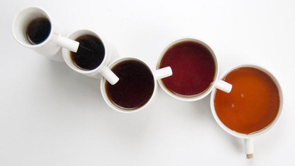 Tea set by UNITEA at Dezeen Super Store #spots #cups #sharing #tea