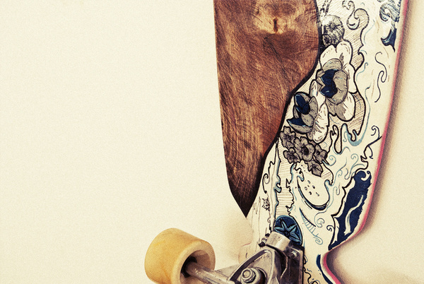 ART OF STREET SURFING / Longboard exhibition #koikoi #wood #longboard #japan