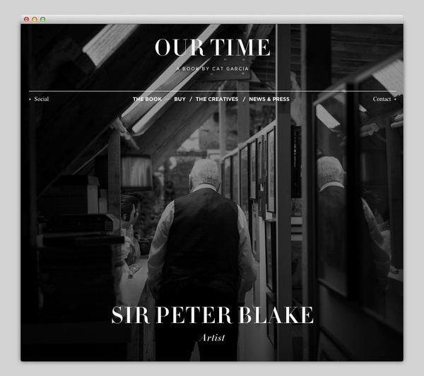 Our Time #website #layout #design #web