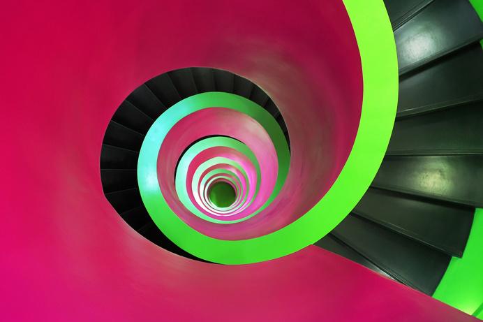 Alex Korting Cottbus | IKMZ University Library - Staircase Informations-, Kommunikations-, Medienzentrum der BTU Cottbus (Brandenburgische