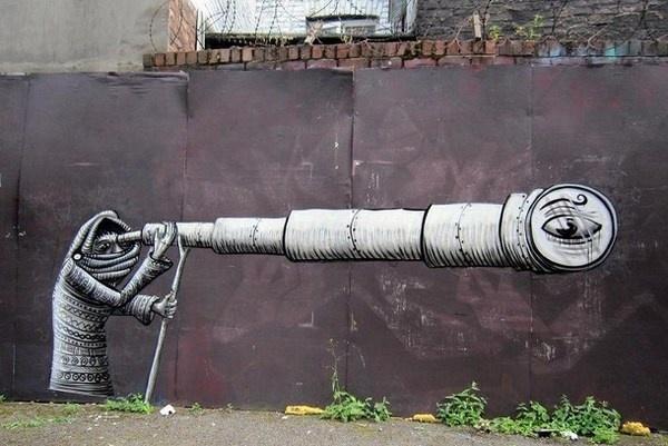 Artist Phlegm amazing art #abstract #surrealism #art #street #surreal