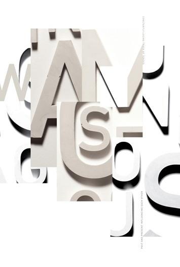 anne jordan - typo/graphic posters #jordan #handmade #poster #anne #typography