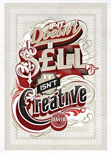 WAY OF THE DAVID on the Behance Network #sell