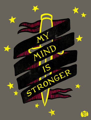 Mu Mind Is Stronger #illustration