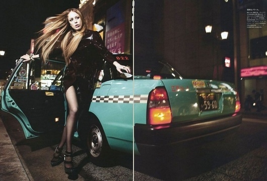 Portrait of a City | Paranaiv / Are Sundnes #mario #girl #pop #sorrenti #taxi #nyc