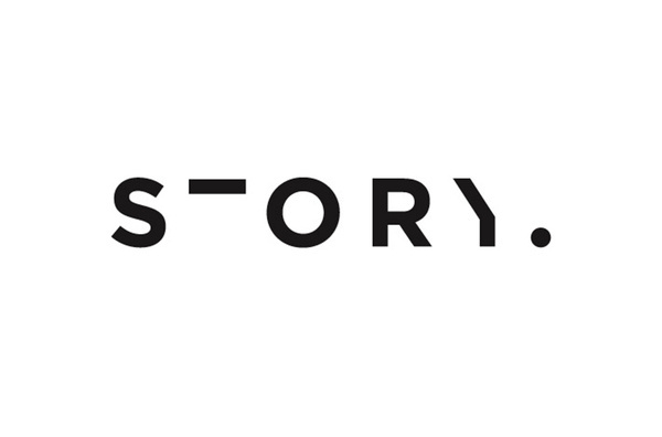 Story logo designed by Toko #logo #design
