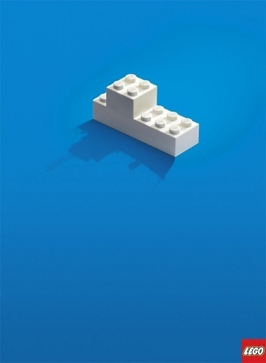 CREATIVE ADS: Lego - The Shadow Knows (4 total) - My Modern Metropolis #brunner #lego #blattner