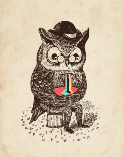 Strange Animals on the Behance Network #illustration